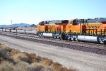 BNSF 6888 and BNSF 6885 pass me by as they roll west towards LA.